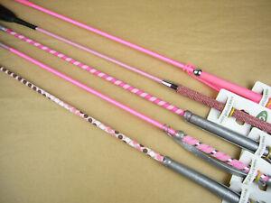 Sonderposten Reitgerte Kindergerten 65 cm 5 Stück rosa pink No. 1152