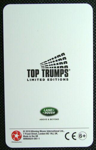 1 x single swap card Range Rover G4 Challenge 4.4 V8 Petrol LR1