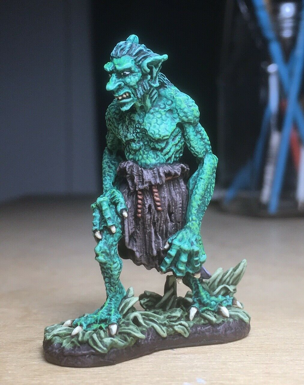 Warhammer D& D Reaper Dark Heaven Legends Marsh Troll