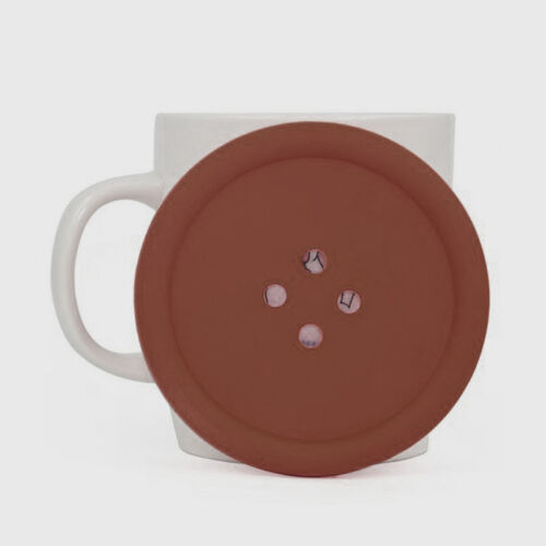 Round Silicone coasters button cup mat tea coffee holder table