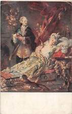 Benczur: Madame Dubarry, Glamour Fancy Vintage Clothing, Ungarische Kunst