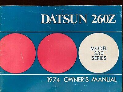 1974 Datsun Pickup Truck Owners Manual 620 Owner Guide Book OEM Original