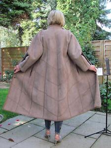 WOMENS-L-XL-Shearling-Lambskin-Sheepskin-Lamb-Coat-Jacket-Ladies-D3991