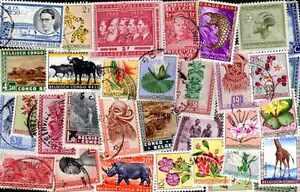 CONGO BELGE collections de 25 à 300 timbres différents