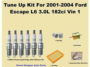 Image Is Loading Tune Up For 2001 2002 2004 Ford Escape