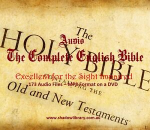Audio - Holy Bible - Old & New Testament - Sight Impaired-Blind on USB Drive