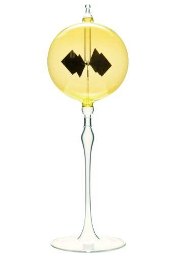 Lichtmühle Solar Radiometer stehend 60mm gelb Lichtmühlen von GlasXpert