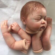 reborn doll kits with painted hair,painted limbs and magnetic mouth realistic