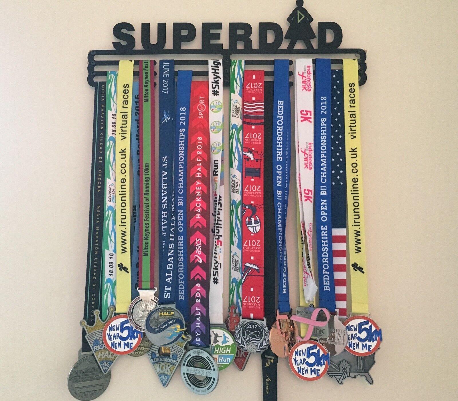 Médaille cintre super super super papa ** fête des pères ** 697dd5