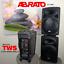 thumbnail 3 - ABRATO TY-1200 + DAC (S-TV) BLUETOOTH KARAOKE POWERED SPEAKER + 2 WIRELESS MIC'S