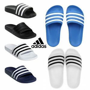 Adidas-Slides-Mens-Womens-Sliders-Adilette-Aqua-Beach-Flip-Flops-Sandals