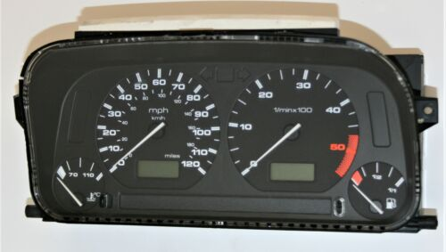 VW Caddy Van 6K 1.9 TDI Hélicoptère armé Léger Speedo 140 MPH VDO Compteur De Vitesse 6K9919940G