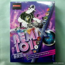 Remix 101 [8-CD] Leslie Cheung Jacky Alan Tam Priscilla Chan Leon Lai Sam Hui 王菲