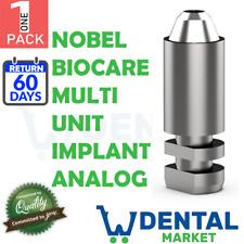 X 1 Nobel Biocare Multi Unit Implant Analog