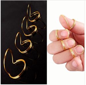 4-choix-Classique-Finger-Picks-wthumb-Fingerstyle-Guitar