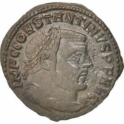 #402158 Rame Thessalonica Ric:61b Good For Energy And The Spleen Constantine I Bb+ Follis