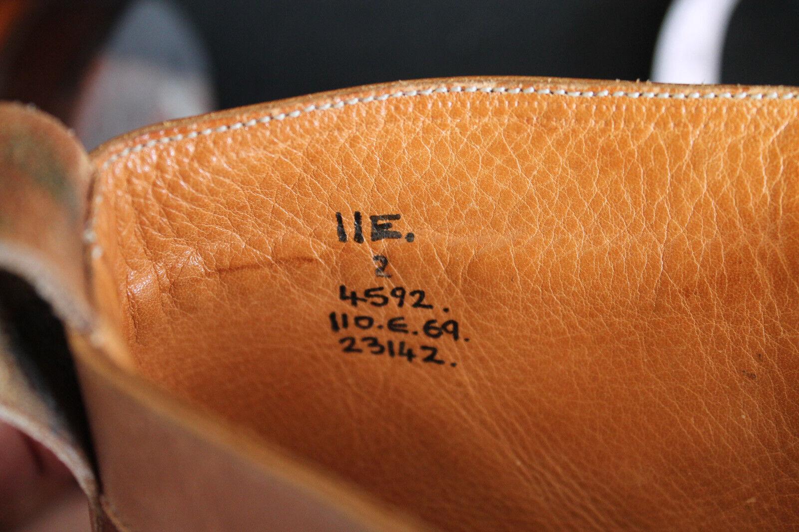 EDWARD GREEN BEIGE ELITE CHESTNUT COGNAC BEIGE GREEN w BROWN SUEDE CAP TOE BALMORAL BOOT 202 f39c1b