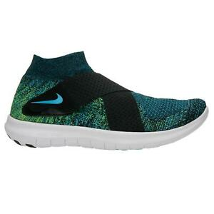 bb318f6ce95 Mens NIKE FREE RN MOTION FLYKNIT 2017 Running Trainers 880845 004