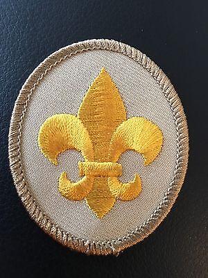 Star Rank Badge Emblem Patch BSA 2010 Backing