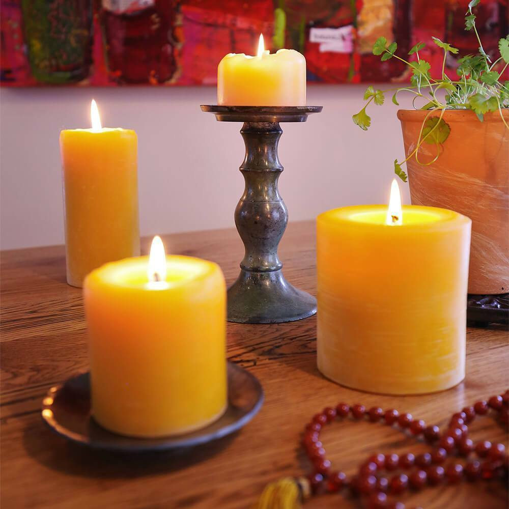 100% Pure Beeswax Candles (Various Größes WxH)