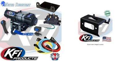 3000lb KFI Steel Winch Mount Combo-Honda Foreman 500 Rubicon Rancher 420 2014-18