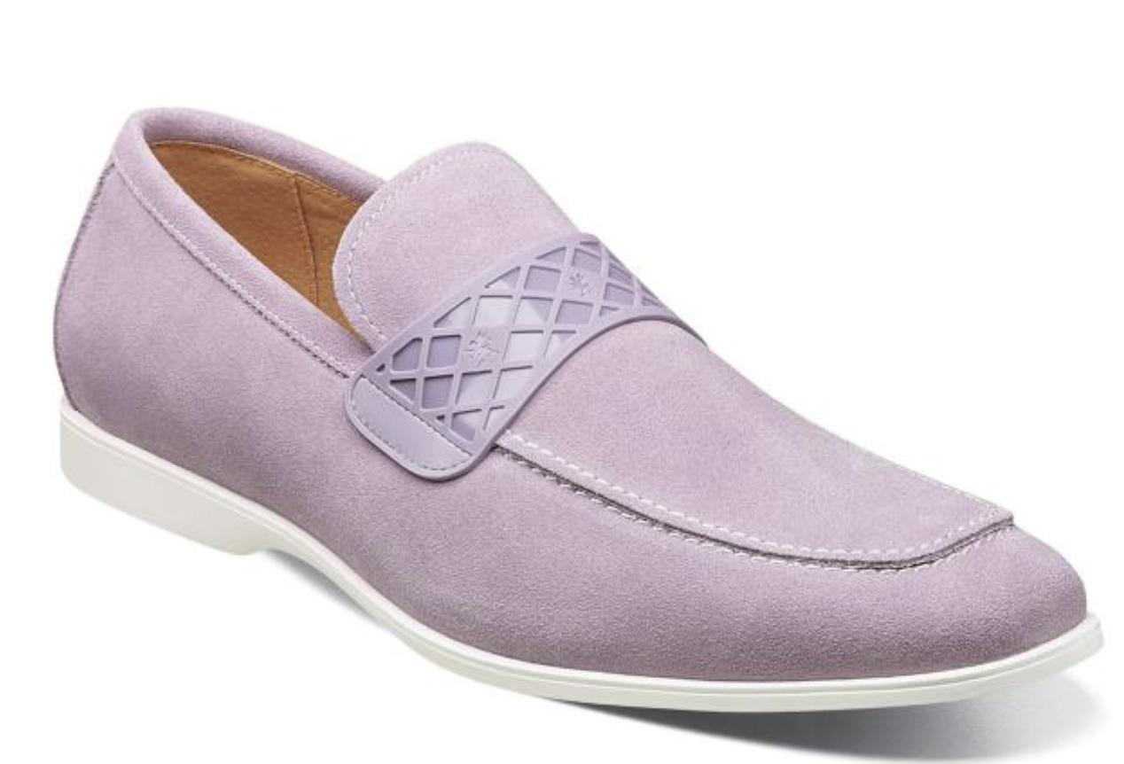 tutti i prodotti ottengono fino al 34% di sconto Stacy Stacy Stacy Adams scarpe Crispin Moc Toe Slip On Lavender Suede 25276-530  outlet