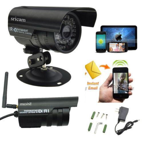 2015 UK WiFi Wireless Home CCTV System Network P2P IP Camera Waterproof  uk top