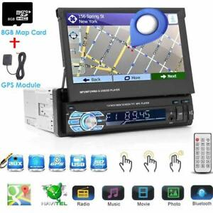 7-034-Retractable-Car-Stereo-Radio-HD-Touch-Screen-Car-Player-GPS-NA-Maps-Camera