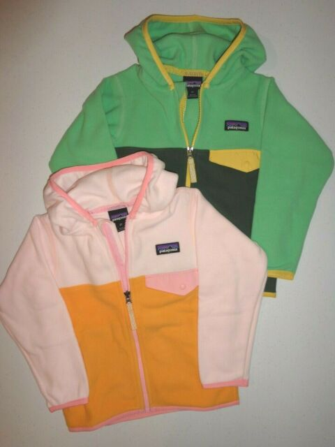 Patagonia Baby Micro D Snap T Fleece Jacket 60155 Size