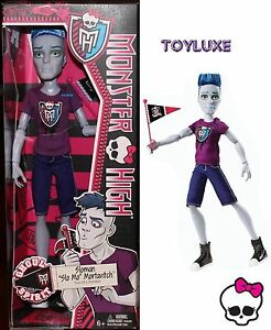 Monster-High-SLO-MO-Sloman-Mortavitch-Boy-Doll-SON-OF-ZOMBIE-Ghoul-Spirit-NEW