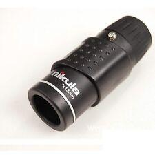 Handy Nikula 7x18 Adjust Mini Monocular Telescope Blue Lens Coating Night Sight
