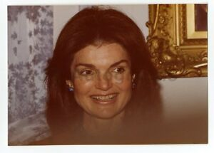 Jacqueline Kennedy Onassis Original Vintage Stunning Candid Peter Warrack Photo