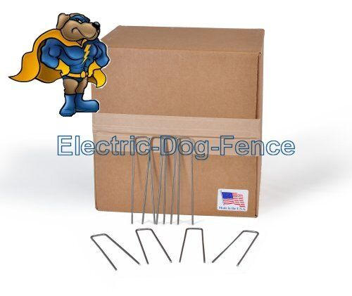Electric Dog Fence Wire Staples 100 Ct
