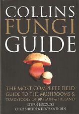 BUCZACKI STEFAN MUSHROOMS BOOK THE COLLINS FUNGI GUIDE paperback BARGAIN new