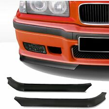 Pair Front Bumper Chin Splitter Spoiler Lip Corner set BMW 3 Series E36 EAP