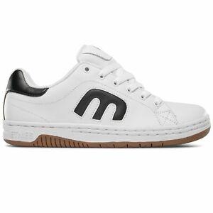 Etnies-Calli-Cut-White-Black-Gum-Men-039-s-Skate-Shoes