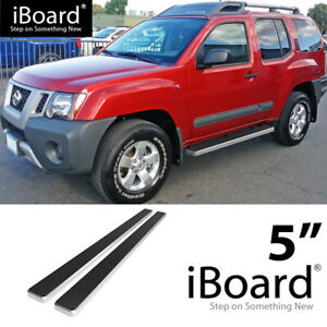 R/&L Racing 5 Matte BLK HD Side Step NERF Bars Rail Running Boards FITS 05-15 Nissan Xterra