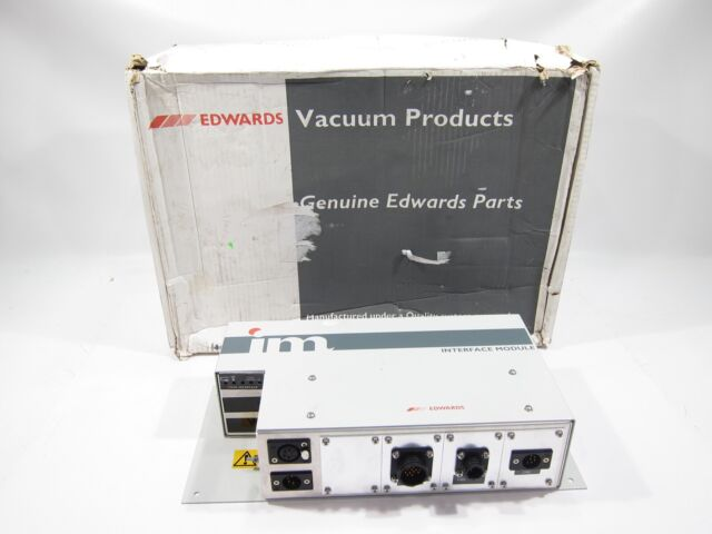 New Edwards A52844430 Vacuum Pump Interface Module