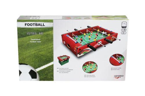 Carromco Tischfußball mini Kicker Tischkicker Fußball Partyspaß 53 x 32 x 10 cm