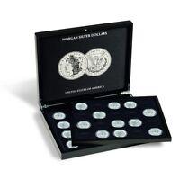 Coin Collection Presentation Case Morgan Silver Us Dollar Box Quality Gift Free
