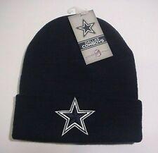 Dallas Cowboys Basic Knit Cuffed Ski Beanie Navy Blue Authentic NFL Apparel 18c4418a9