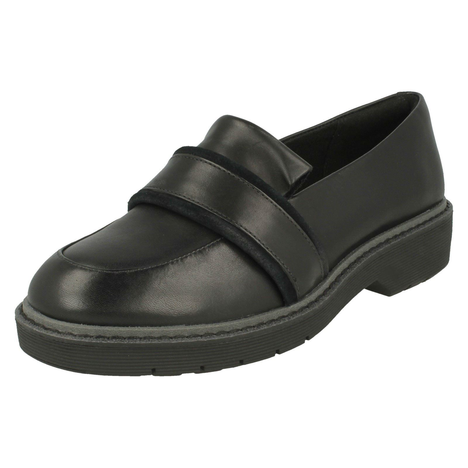 Ladies Clarks Clarks Clarks Flat Loafer Inspired shoes - Alexa Ruby a542de