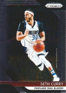 2018-19-Panini-Prizm-Basketball-131-Seth-Curry-Portland-Trail-Blazers