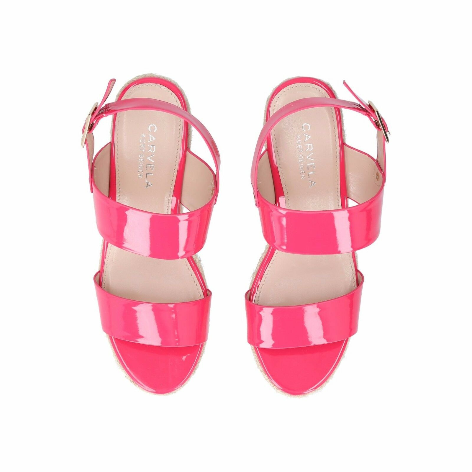 Carvela Bliss Sandals Pink Patent rrp UK UK UK 6 EU 39 JS41 79 SALEs 121fe1