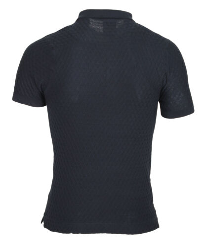 Mens 883 Police Wang Knitted Polo ShirtNavy Org Price£45 - Now Only £34.95