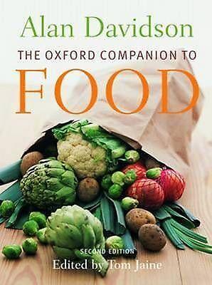 The Oxford Companion to Food (Oxford Companions), Acceptable, Davidson, Alan, Bo