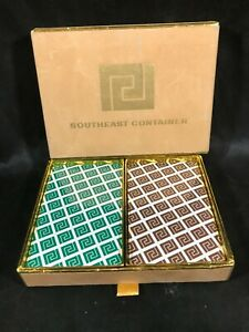 NOS Southeast Container Advertising Congress Double Deck Playing Cards