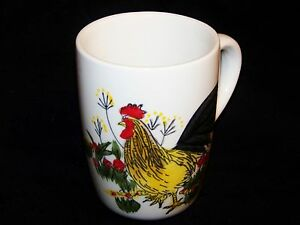 Image Is Loading Paula Deen Signature Southern Rooster Collection Stoneware Coffee