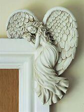 Door Frame Angel Wings Wall Sculpture Ornament Garden Home Decor Secret  Fairy