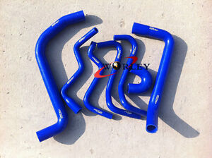 Silicone-radiator-hose-fit-Holden-VT-VX-VU-WH-Commodore-V6-3-8L-1997-2002-Blue